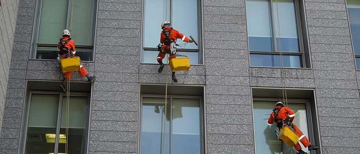 Making it shine! Washing windows Fast & Easy!