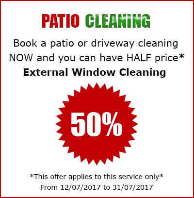 patio cleaning Lancashire