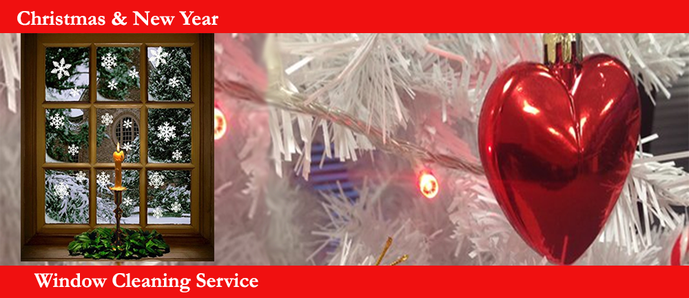 Christmas Window Cleaning Service