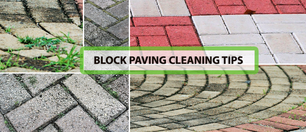 BLOCK PAVING CLEANING TIPS