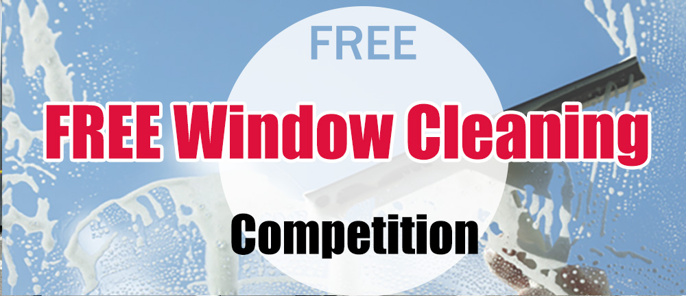 free window cleaning competition, Burnley, Blackburn