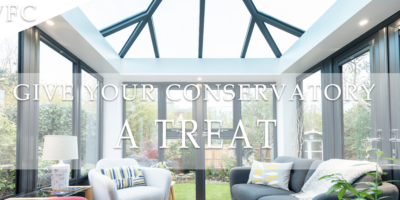 Give Your Conservatory  Cleaning  TREAT
