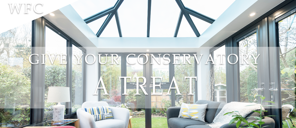 treat your conservatory to a cleaning